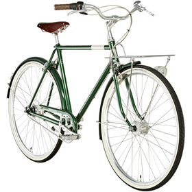 Creme Caferacer Doppio Homme, forest green